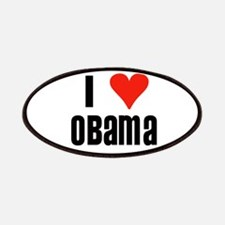 I Heart Obama Patches