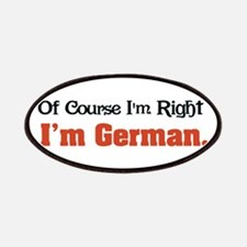 I'm German Patches