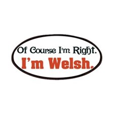 I'm Welsh Patches