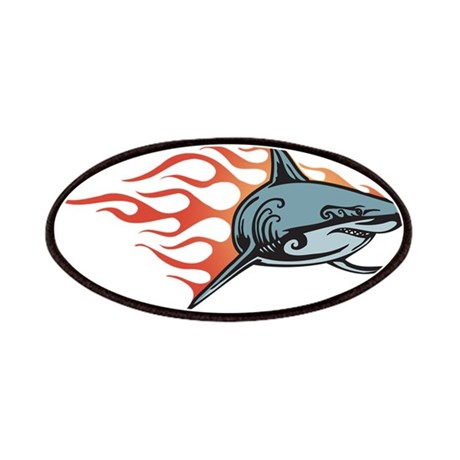Shark Fire Patches