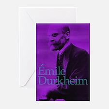 Emile Durkheim Greeting Cards (Pk of 20)