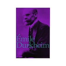 Emile Durkheim Rectangle Magnet (10 pack)