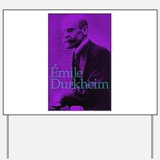 Emile Durkheim Yard Sign