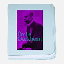 Emile Durkheim baby blanket