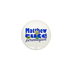 Cute Matthew Mini Button (10 pack)