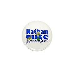 Cute Nathan Mini Button (100 pack)