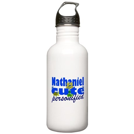 Cute Nathaniel Stainless Water Bottle 1.0L