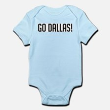 Go Dallas! Infant Creeper