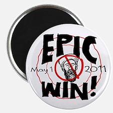 Epic Win Osama Dead Magnet