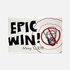 Epic Win Osama Dead Rectangle Magnet (10 pack)
