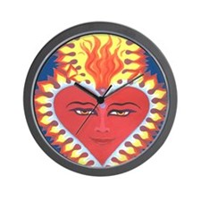 Sacred heart of Buddah Wall Clock