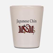 Japanese Chin Gifts Shot Glass
