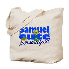 Cute Samuel Tote Bag