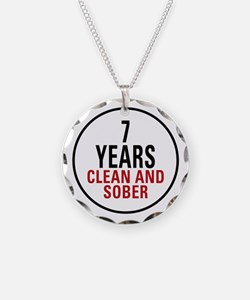 7 Years Clean & Sober Necklace