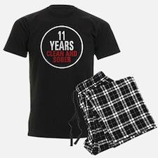 11 Years Clean & Sober Pajamas