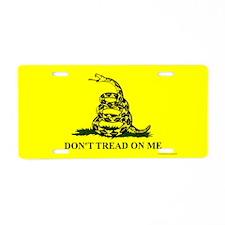 DTOM, Aluminum License Plate