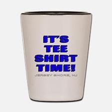 Jersey Shore TST blue Shot Glass
