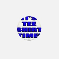 Jersey Shore TST blue Mini Button