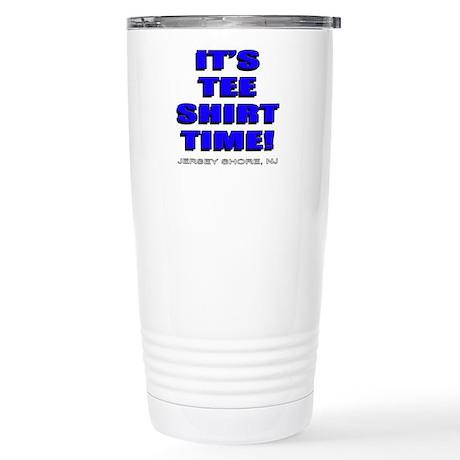 Jersey Shore TST blue Stainless Steel Travel Mug