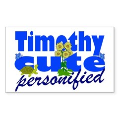 Cute Timothy Decal