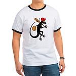 Baseball Gecko Ringer T