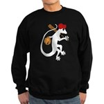Baseball Gecko Sweatshirt (dark)