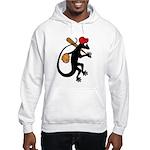 Baseball Gecko Hooded Sweatshirt