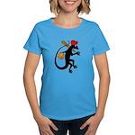 Baseball Gecko Women's Dark T-Shirt