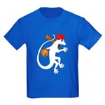 Baseball Gecko Kids Dark T-Shirt