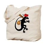 Baseball Gecko Tote Bag