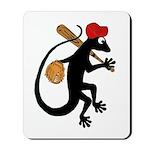 Baseball Gecko Mousepad