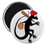Baseball Gecko Magnet