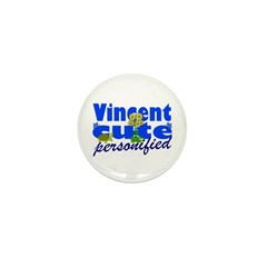 Cute Vincent Mini Button (100 pack)