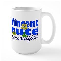 Cute Vincent Large Mug
