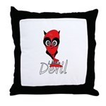 Little Devil Throw Pillow