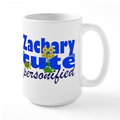 Cute Zachary Large Mug