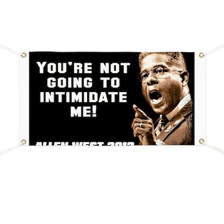 Allen West - Intimidate Banner