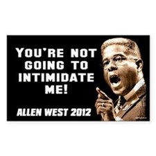 Allen West - Intimidate Decal
