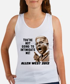 Allen West - Intimidate Women's Tank Top