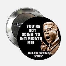 """Allen West - Intimidate 2.25"""" Button (10 pack)"""