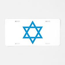 Israel - Star of David Aluminum License Plate