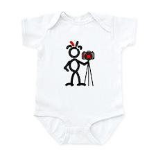 Red Photo2 Infant Bodysuit
