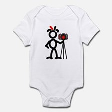 Red Photo2 Infant Bodysuit