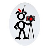 Photographer Oval Ornaments