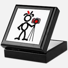Red Photo2 Keepsake Box