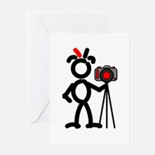Red Photo2 Greeting Cards (Pk of 10)
