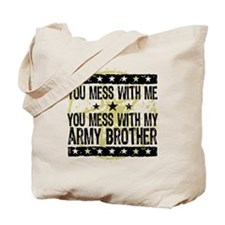 Army Brother Tote Bag