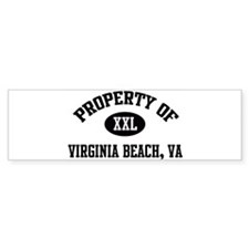 Property of Virginia Beach Bumper Bumper Sticker