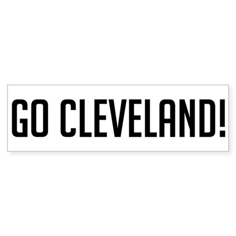 Go Cleveland! Bumper Sticker