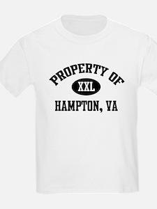 Property of Hampton Kids T-Shirt
